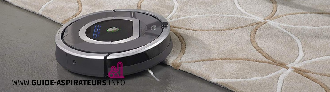 Test aspirateur robot iRobot Roomba 782E