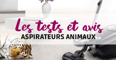 test aspirateurs animaux