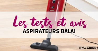 test aspirateurs balai