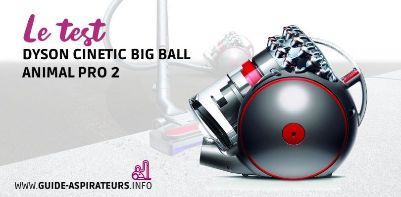 aspirateur animaux dyson cinetic big ball animal pro 2 notre test. Black Bedroom Furniture Sets. Home Design Ideas