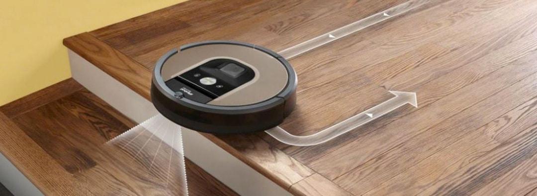 aspirateur robot escalier